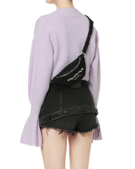 Attica ruched fanny pack