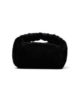 Scrunchie faux fur small bag