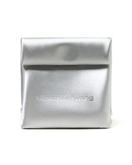 Lunch bag alloy clutch