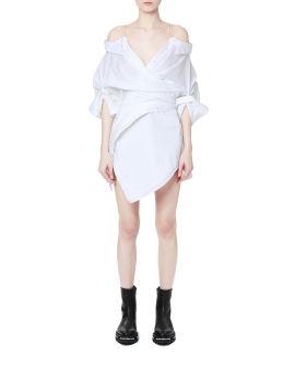 Deconstructed shirt dress