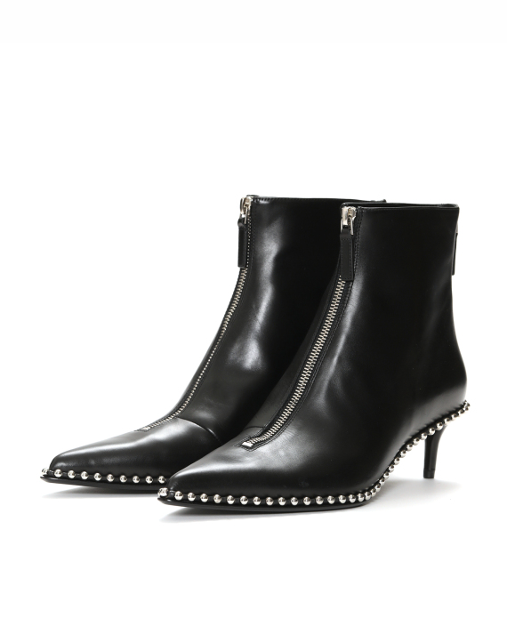 8df77441ca0 alexander wang Eri kitten heel leather boots