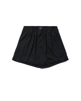 Perforated mesh jersey boxer shorts