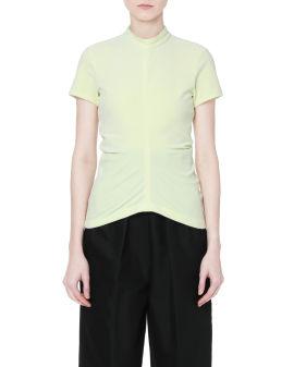 Panelled slim fit top