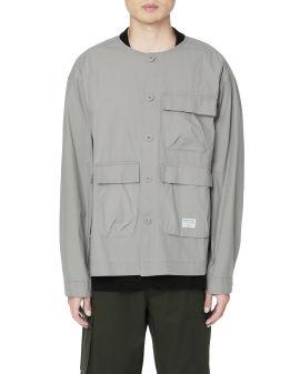 Military shirt jacket