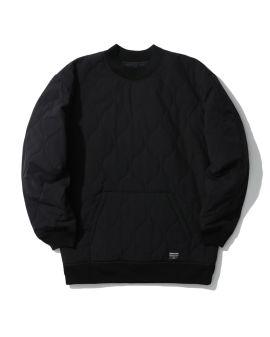Quilted sweatshirt