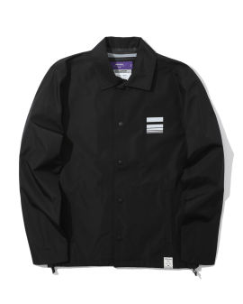X WILLIAMISM logo coach jacket