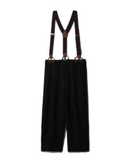Suspender straps pants