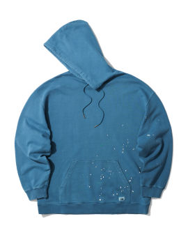 Oversized paint speck hoodie