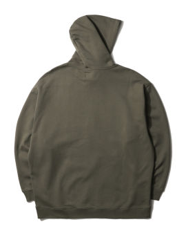 Patched hoodie