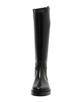 Vitello Lucido Nero Riding leather boots
