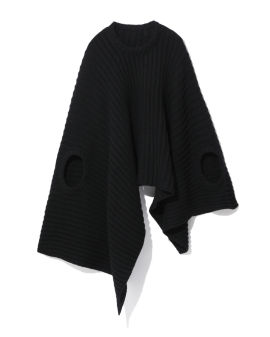 Chloe knitted 3-holes top