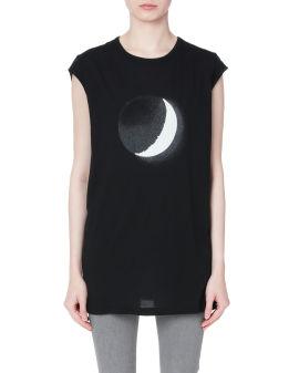 Moon print top