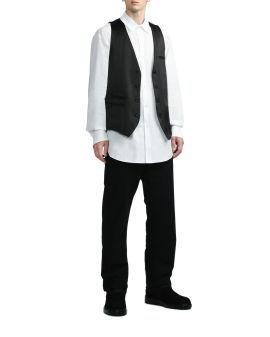 Roy slouchy vest coat