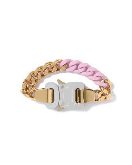 Coloured links buckle bracelet