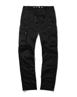 Waist button detail cargo pants
