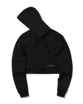 Logo cropped hoodie