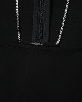 Long sleeve chain top