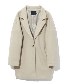 Relaxed overcoat
