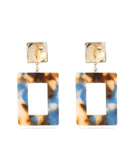 Tortoiseshell earrings