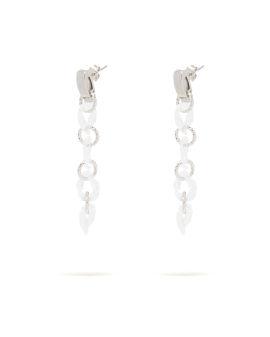 Twist ring earrings