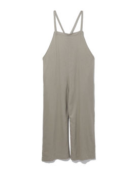 Straight fit overalls