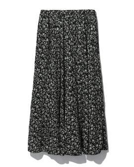 All-over printed skirt