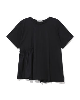 Ruffle panelled top