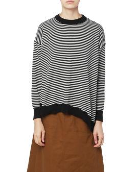 Assymetric knit sweater