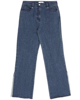 Split jeans