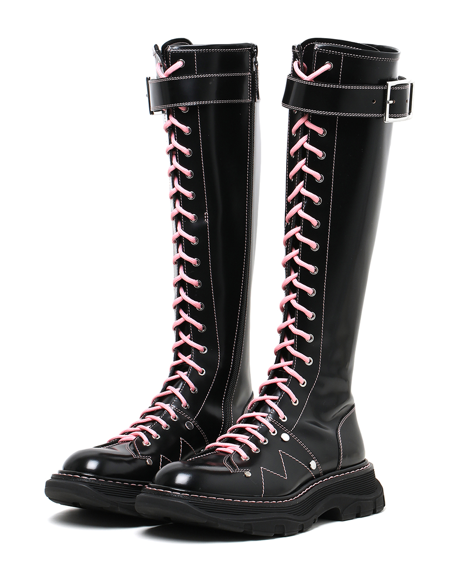 Tread Lace-Up Boots