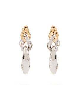 Sculp chain earrings