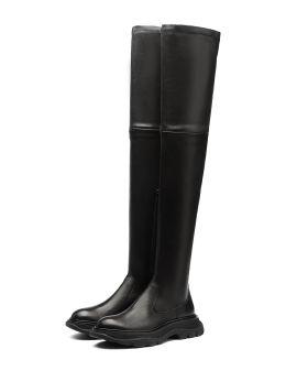 Thigh-high Tread boots