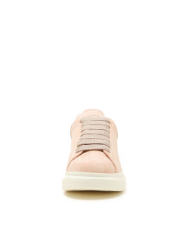 Oversized lace-up sneakers