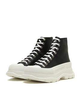 H BOOT WITH LEATHER