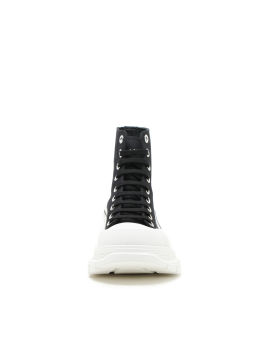 Tread slick lace-up sneakers
