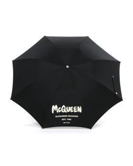 Mcqueen graffiti beach umbrella