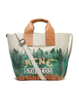 X Grant Levy-Lucero printed tote bag