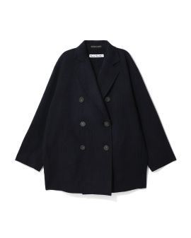 Relaxed wool jacket