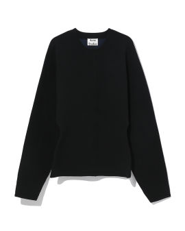 Blouson sleeve sweater