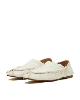 Beica snakeskin effect loafers
