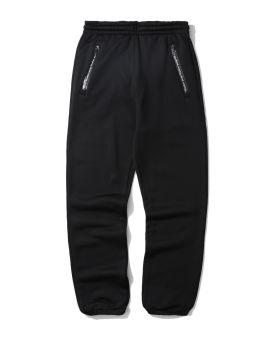 Technical logo zip sweatpants