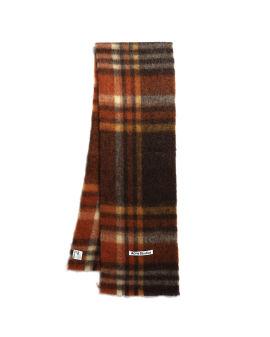 Heavy plaid scarf