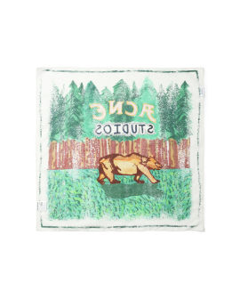 Seasonal print scarf