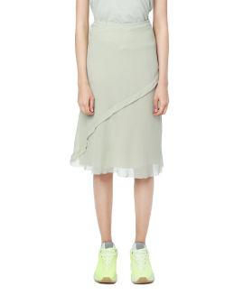 Bias-cut Georgette skirt