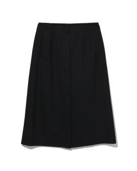 Layered A-line skirt