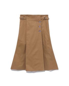 Unlined wrap skirt