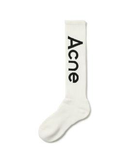 Logo jacquard socks