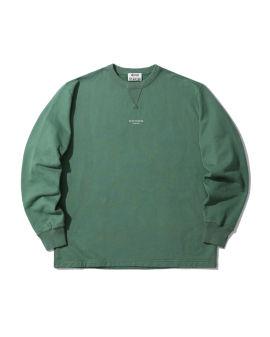 Reverse logo sweatshirt