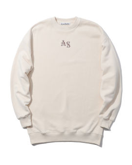 Logo crew neck relaxed sweatshirt