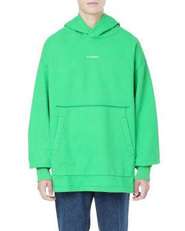 Logo oversized hoodie